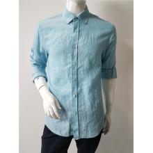 Linen Man Long Sleeve Shirt