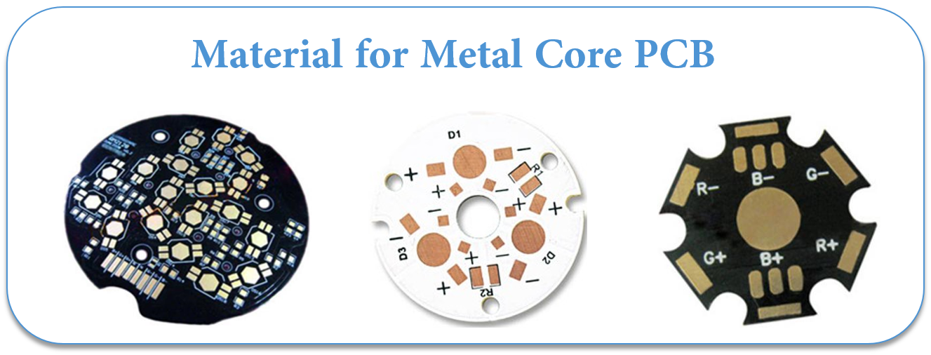 Material for Metal Core PCB