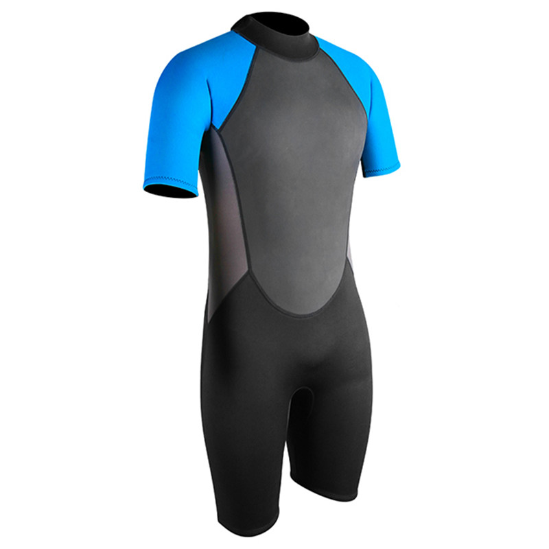 Seaskin 3mm Shorty Freediving Zip Wetsuits