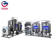Réservoir de refroidissement de pasteurisateur pour machine de scellage de remplissage de yaourt
