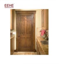 Kundenspezifische einfache geschnitzte Holzraumtür in flächenbündiger Tür