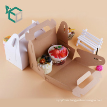 Food grade material FSC certificate paperboard Ice cream carrier package