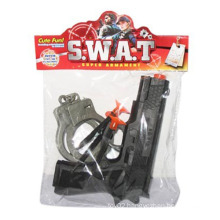 En71 Approval Plastic Police Set Toys Pistol Toy Gun for Boy (10217965)