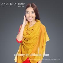 2015 Nouvelle écharpe en orange à la mode