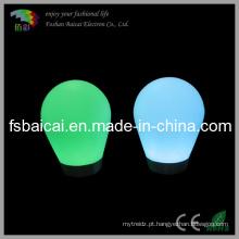 Rechageable Li-Bateria Lâmpada de piso LED brilhante