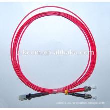 Cable de conexión de fibra óptica MTRJ / ST OM4