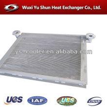 Cargador de ruedas depósito de agua con radiador para cargador / intercambiador de calor en aleta de aluminio