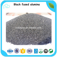 Fine grain and micro Black rough corundum for grinding and polishing
