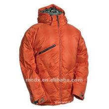 Vestuário de esqui à prova de água de laranja cheio para homens