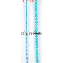 DIY gemstone bead with dyed color for wholesale