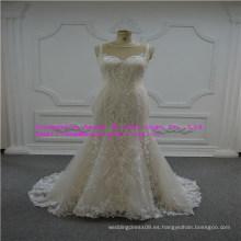 Unipue y vestido de novia de encaje de moda