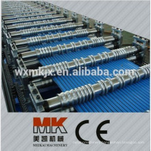Roof Plate Corrugation Cold Roll Forming Machine roll former Color Steel Arc Corrugated Roof Sheet roll former