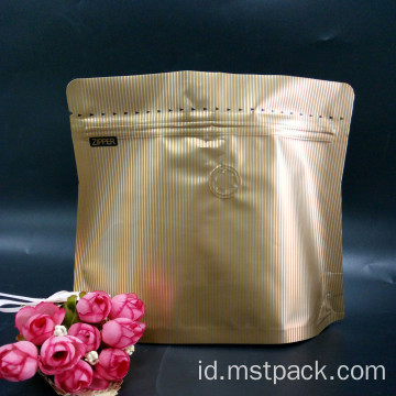 Pocket Zipper Coffee Bag / Diamond Bag