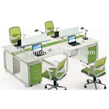 Novo design computador de mesa computador de ferro para 4 pessoas