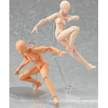 Высококачественная Индивидуальная Пластмасса Искусственного Скелета Искусственного ПВХ с черепом DIY Обучающая Игрушка