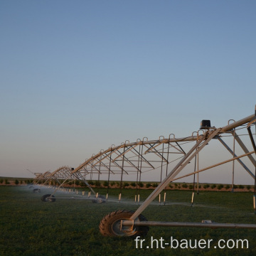 système d'irrigation à pivot central par aspersion agricole