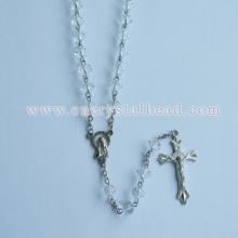 Gros cristal chapelet perle