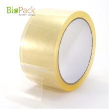 Kompostierbares transparentes Verpackungsband für kundenspezifische kompostierbare Klebefolien