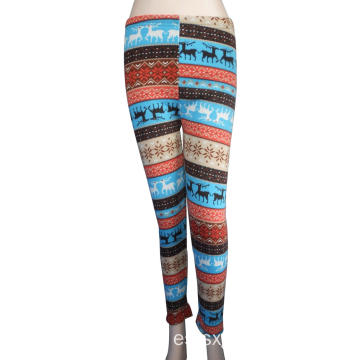 Leggings largos de dama de moda