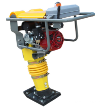 Durable gasoline earth sand soil impact jumping jack compactor tamper