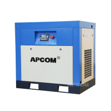 APCOM industrial silent energy-saving motor 10HP 7.5kw power frequency rotary screw air compressor