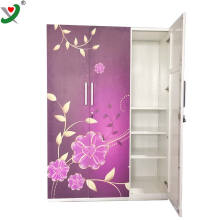 India customized clothes storage cabinet stainless steel locker design