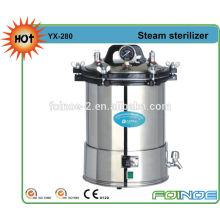 Portable pressure steam autoclave sterilizer