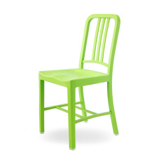 Modern Seat Brushed Plastic Restaurant Dining Chair