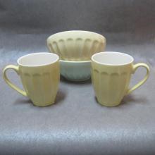 Bols et tasses à mélanger / servir en céramique couleur