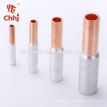 Conector de cable bimetálico GTL Tubo de conexión cobre-aluminio