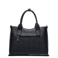 Ladies PU Handbag with Reasonable Capacity and Unique Design