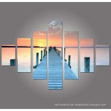 Sonnenuntergang Bilder Wand dekorativ, Gruppe Kunst