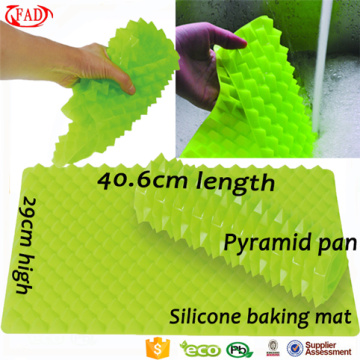 Wholesale piramide tappetino in silicone