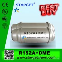 Gás refrigerante R152a + DME para venda usado para XPS, PU