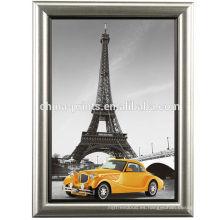 Torre Eiffel de París con la pintura del arte de la lona del marco
