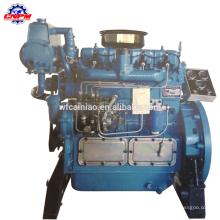 CE certificado motor diesel marino de 4 cilindros