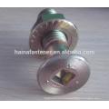 Flat Head Socket Bolt With Hex Flange Nut