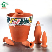 Античный керамический цветочный горшок для украшения сада Керамический горшок для выращивания