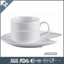 Tasse à café en porcelaine 100CC et soucoupe