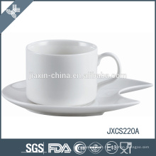 100CC xícara de café de porcelana e pires