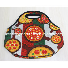 Fashionable Insulated Neoprene Lunch Bag, Neoprene Picnic Cooler Bag