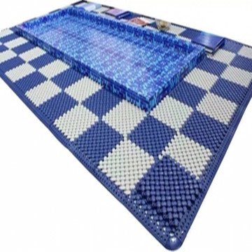 Khách sạn Wet Area Mat Swimming Pool Flooring