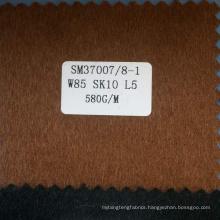 High value camel wool silk blend fabrics for men coat
