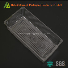 Food grade clear transparent plastic cookie trays