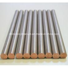 99.95% Rods purs de tungstène de Wolfram pour le four à hautes températures