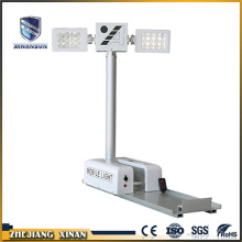 High quality telescopic generator trailer light tower