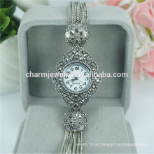 Moda elegante nuevo reloj de pulsera de cuarzo de lujo de señoras para las mujeres B029