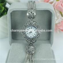 Мода элегантные новые женские роскошные кварцевые наручные часы для женщин B029