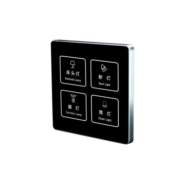 Hotel Intelligent Wall Touch-Schalter