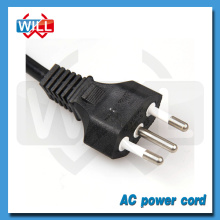 Manufactory High quality cheap brazil 10A ac power cord